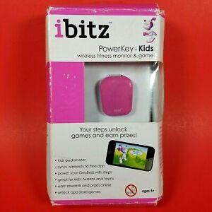 Ibitz PowerKey Kids Wireless Fitness Monitor / Activity Tracker Game Pink/White