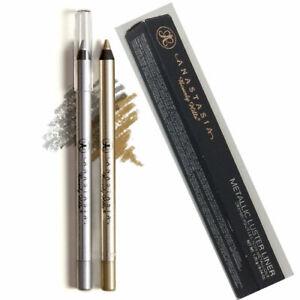 Anastasia Beverly Hills Metallic Luster Eye Liner Liquid Gold / Silver Authentic
