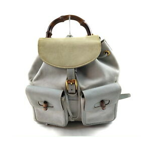 Gucci BackPack Bag Bamboo Suede Leather Backpack Suede Leather 2207510