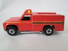 1974 Hot Wheels Fire Rescue Ranger Ambulance Truck 1:64 Malaysia