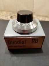 Beckman Instruments Duodial Model Rb Potentiometer Counting Dial Knob Brand New
