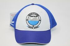 Whaletown Triathalon Anita Iowa Headsweats Race Hat With Tags Race Omaha Blue