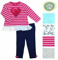 Little Me Girls Sweater and Leggings 2 Piece Outfit Set