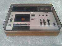 Sony TC-133 CS Cassette Player / Recorder Vintage 1972