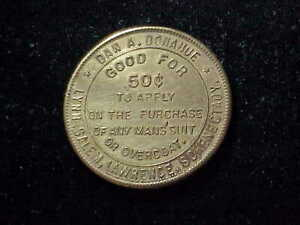 Schenectady, NY Dan Donahue good for 50c New York swastika pictorial token