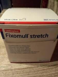 Fixomull Stretch Verbandfixierung 20m x 10cm Rollenpflaster, Fixierpflaster,