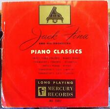 "Jack Fina - Piano Dance Classics 10"" VG MG 25017 Mercury 1950 Mono USA"