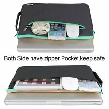 iPad Pro 10.5 Sleeve Case Shockproof Crossbody Zippered Daily Handle Bag Black