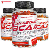 ANABOLIC BCAA SYSTEM Supports Muscle Energy & Suppress Muscle Protein Breakdown