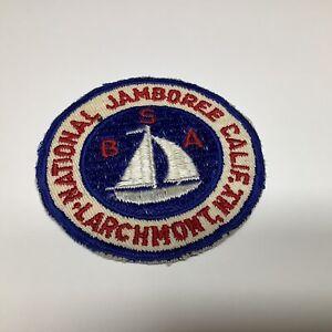 1953 Boy Scout National Jamboree Patch Larchmont, New York