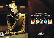 PUBLICITE ADVERTISING 124  2006  LAVAZZA CLUB  café MOST EXPRERIENCE ( 2p) doset