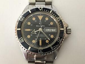 ELGIN Vintage Diver watch 200m - DH113-2879 - Automatic movement