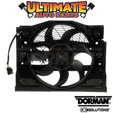 A/C Condenser Cooling Fan w/Controller for 01-05 BMW 325Ci 325i 325xi