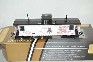 HO True Line Trains Canadian National Ry PSC caboose car Operation Lifesaver