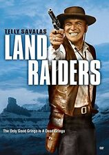 LAND RAIDERS dvd (1969) - Telly Savalas, GEORGE MAHARIS, Nathan Juran