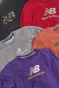 Vintage NEW BALANCE x 5 Spellout Sweatshirts   Multiple Sizes/Colours