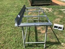 Six Foot Stainless Steel Worktop Table Frame
