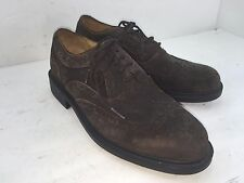 ROCKPORT WINGTIP SIZE 10 M BROWNS LEATHER SUEDE