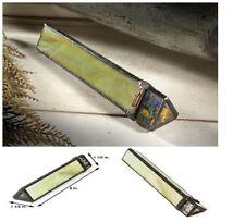 """J Devlin Kal 113 Seagrass With Filigree Glass Kaleidoscope 1 1/2"""" x 9"""" x 1 1/2"""""""