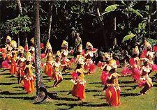 BR9034 Groupe de Dance Tiare Purutu Tahiti folklore types