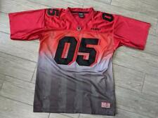 1990s vintage FUBU football jersey LARGE red shirt SKATE