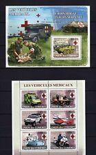 COMORES 2008 LES VEHICULES MEDICAUX CROIX-ROUGE INTRNATIONALE MILITARY WAR MNH**
