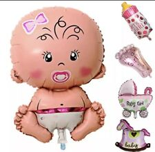 Folienballons 5tlg. Set It's A Girl Newborn Baby Geburt Babyparty
