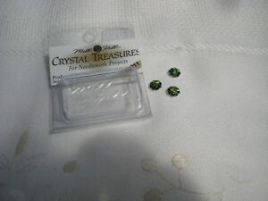 Mill Hill Crystal Treasures, 30 packs of flower beads, 1 colour