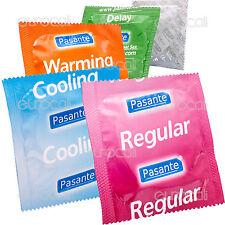 100 Preservativi MISTI A SCELTA Profilattici CE Pasante ESP