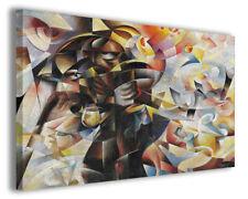 Quadro moderno famoso Tullio Crali vol VI stampa su tela canvas arredo poster