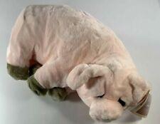 "Applause Lou Rankin Pig Plush 16"" Stuffed Animal Wilfred 24051"