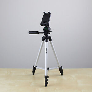 """50"""" Tripod with 1/4""""-20 Screw Mount Holder for iPhone 5 4 4s 3gs 3g Smartphone"""