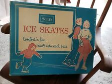 New listing Vintage Boy's Size 3 Ice Skates New In Box