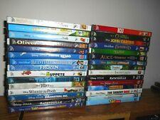 Lot of 30 Disney Rewards Dvd: Kids/Family Movies] Big Hero 6; Finding Nemo ] New
