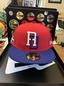 Dominican Republic New Era 59FIFTY 2017 World Baseball Classic Fitted Hat Sz 8
