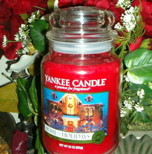 Yankee Candle Home For the Holidays 22 oz Housewarmer Christmas New AUTHENTIC