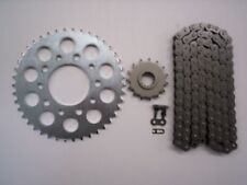 HONDA CBR600F HURRICANE SPROCKET & O-RING CHAIN SET 15/44 1987 - 1990 SLV