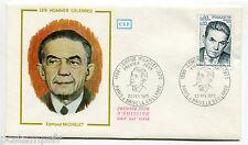 FRANCE 1975, FDC 1° JOUR, CELEBRITE, EDMOND MICHELET, timbre 1825
