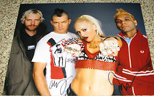No Doubt Signed 11x14 Band Photo x2 Adrian Young and Tony Kanal with proof