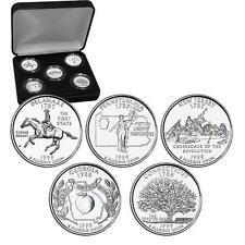 1999 Uncirculated US Mint State Quarters Set in Gift Box - BU Statehood Quarters
