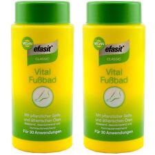 efasit CLASSIC Vital Fußbad Vegan 2 x 400 g für 60 Anwendungen TOP