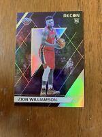 2019-20 Panini Chronicles ZION WILLIAMSON #292 Recon Rookie Pelicans