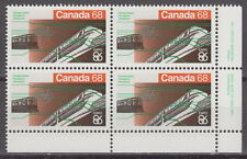 CANADA #1093 68¢ Expo 86 LR Inscription Block MNH