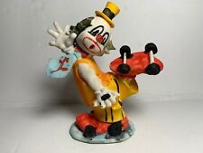 Vintage Miniature Clowns Animated  Made in Taiwan Lot of 1 Colorful Playful