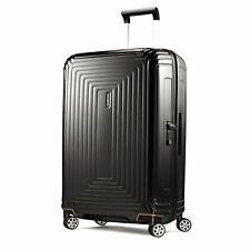 Samsonite Neopulse Hardside Luggage Spinner Wheels Metallic Black Carry-On
