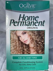 2X Ogilvie Salon Styles Home Permanent For All Hair Types Conditioning curls