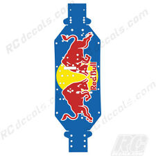 "LOSI DESERT BUGGY XL 4WD THICK CHASSIS PROTECTOR ""Red Bull"" FITS OEM PLATE 1/5"