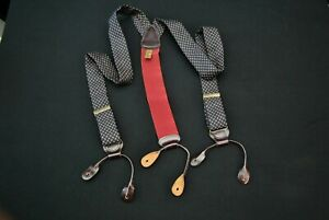 Trafalgar Suspenders Blue Silk Braces