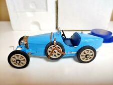 Franklin Mint 1924 Bugatti Type 35 Blue 1:24 scale Boxed
