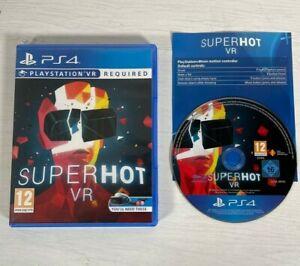 SuperHot VR -- Playstation 4 PS4 -- UK Seller --